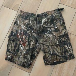 Camo Cargo Shorts